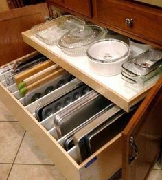 This is such a wonderful idea - for my future house.   I found it on here: http://www.houzz.com/photos/20379843/Third-Quarter-2014-Projects-traditional-kitchen-other-metro