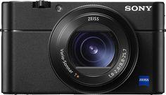 Sony - Cyber-shot RX100 V 21.0-Megapixel Digital Camera - Larger Front