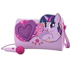 My Little Pony Sing-Along Karaoke Boombox My Little Pony Party, My Little Pony Clothes, Minnie Mouse Clubhouse, My Little Pony Collection, Nail Art For Kids, Kids Electronics, My Little Pony Merchandise, My Little Pony Pictures, Boombox