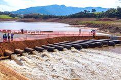 As bombas foram utilizadas na captação das reservas técnicas do Sistema Cantareira durante a crise hídrica no Estado de São Paulo em 2013   crédito: Vagner Campos/ A2 FOTOGRAFIA (arquivo)