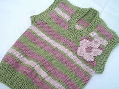 Pilgrim Purse ~ and Poetry: Girls Sweater Vest