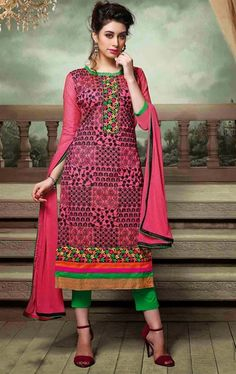 Picture of Impressive Magenta Color Salwar Kameez
