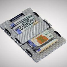 мычка минималистский углеродного волокна бумажник