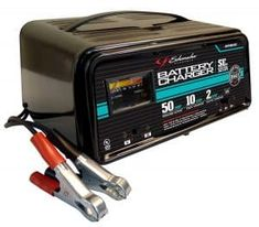 A car battery charger is a handy device to have. It will help you get your car started when the battery gets drained. Tractor Battery, Battery Shop, Optima Battery, Solar Panel System, Lead Acid Battery, Charger, Laptop, Schumacher