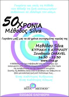 Η Laura Quesada Silva στην Αθήνα για την επέτειο των 50 χρόνων της Μεθόδου Silva - είσοδος ελεύθερη Chart