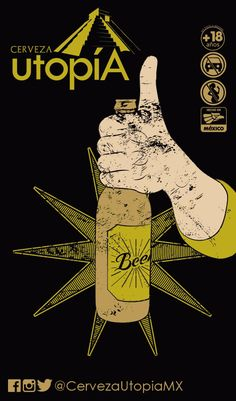 BEER utopiA BEER utopiA, una cerveza unica y sorprendente esp Comic Books, Beer, Root Beer, Ale, Cartoons, Comics, Comic Book, Graphic Novels, Comic