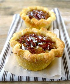 Jenny Steffens Hobick: Petite Deep Dish Pecan Pies | Pie Recipes for Than...