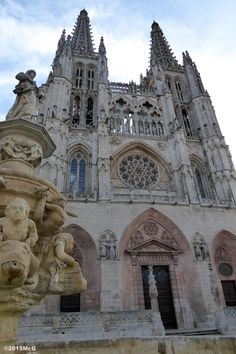 Cathedral Burgos #Camino 2015 july McG - day 15