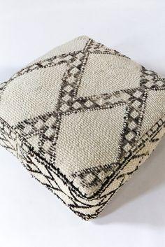 f7260dc51f5 Vintage Beni Ourain Floor Cushion