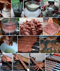 Grilled Ground Beef Kabob (Kabob-eh Koobideh) Detail