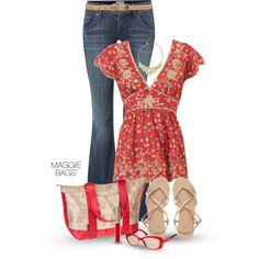 A fashion look from March 2014 featuring Forever 21 blouses, Hudson Jeans jeans and ASOS sandals. Browse and shop related looks.