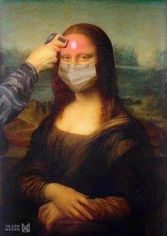 Aesthetic Drawing, Aesthetic Art, Aesthetic Pictures, Mona Lisa Drawing, La Madone, Mona Lisa Parody, Mona Lisa Smile, Art Jokes, Arte Pop