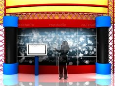 virtual set Kids volume 2 Tv Decor, Cinema, Studio, Kids, Crafts, Filmmaking, Movies, Study