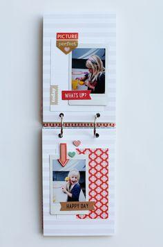 Paper Fab: Summer 2014 Instax Mini Album *Gossamer Blue*
