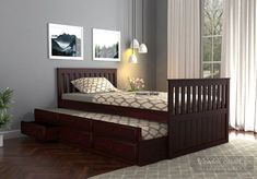 Beds for Kids that are suitable for compact rooms! WoodenStreet's beautiful multi-functional with storage is best suitable for your kids to have a good night sleep with no fights for bed! Trundle Bed With Storage, Bed Storage, Have A Good Night, Good Night Sleep, Wooden Street, Beds Online, Kid Beds, Compact, Ann