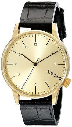 Komono herren armbanduhr analog quarz polyurethan kom w2021