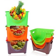 [US$28.23] - Kitchen of Fruit and Vegetable Storage Basket : BeepBee - Cute Gadgets at Right Price - Worldwide Free Shipping