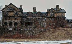 Abandoned Bennett collage new york