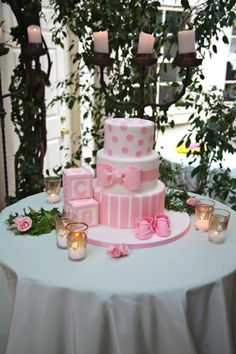 baby shower cake, like the style, need to turn up the color! Mardi graw baby!