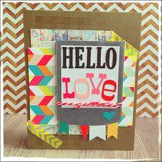 hello love - Scrapbook.com