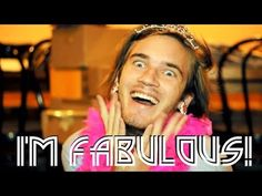 FABULOUS! (PewDiePie Song, By: Roomie) - YouTube  I LOVE THIS TOO MUCH