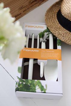 Homevialaura   Summer balcony   gardening   Fiskars Urban Planters Set