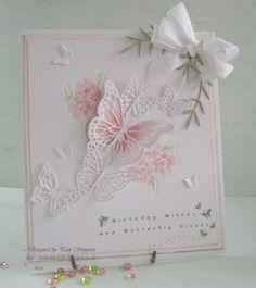 Butterfly Kisses. Memory Box dies.