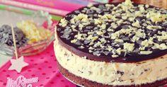 Tarta mousse de Straciatella (sin horno) | Straciatella mousse cake (no bake)
