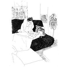 Lena Piroux - Illustrations - Feels like home