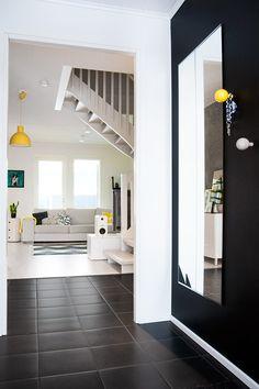 monochrome interior yellow