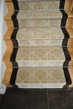 Custom Stair Runner Design Ideas, Pictures, Remodel and Decor Axminster Carpets, Stairs, Design Ideas, Contemporary, Pictures, Home Decor, Photos, Stairway, Decoration Home