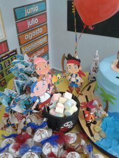 Ideas para hacer cumpleaños de Jake y los Piratas de Nunca Jamás