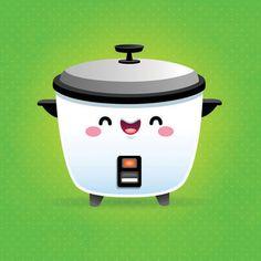 Kawaii Rice Cooker by Jerrod Maruyama, via Flickr