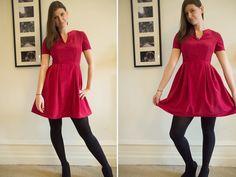 honigdesign:Free Pattern : Garden Party dress