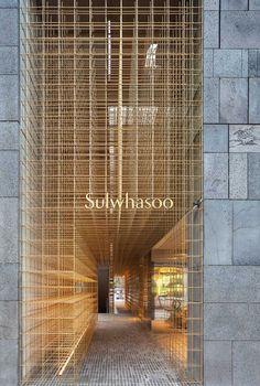 AMORE Sulwhasoo Flagship Store in Seoul, South Korea by Neri&Hu.
