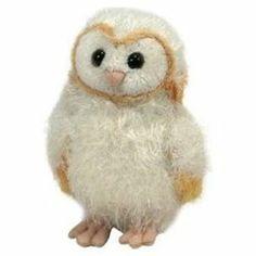 Ty Beanie Babies Legend of the Guardians: The Owls of Ga'Hoole 6 Eglantine Owl Plush Stuffed Animal Toy  $3.95