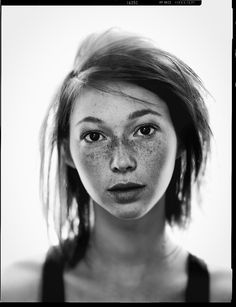 Freckles and photography.