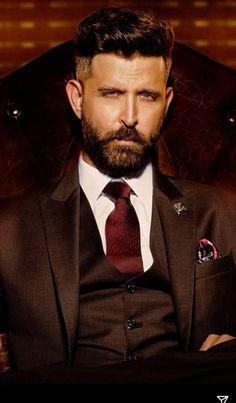Handsome Bearded Men, Hrithik Roshan, Greek Gods, Fictional Characters, Fantasy Characters