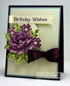 Stippled Blossoms for The Paper Players   Ann Schach August 31, 2014 - The Stampin' Schach