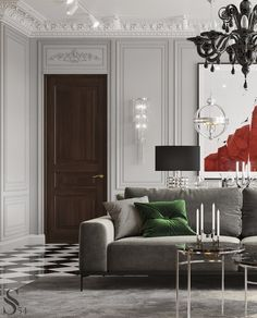 37 Fascinating Classic Home Decor Ideas That You Definitely Like - The home needs to be decorated every now and then and the style that you choose will depend on your sense of style, beauty and taste. Classic Home Furniture, Classic Home Decor, Classic Interior, Classic House, Home Decor Furniture, Modern Interior, Living Room Designs, Living Room Decor, Living Rooms
