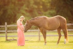maternity photography with horses - Google Search