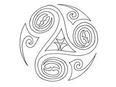noeud celtique carr ornemental coloriage soir e st patrick pinterest n uds celtiques. Black Bedroom Furniture Sets. Home Design Ideas
