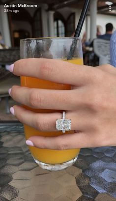 Catherine Paiz engagement ring