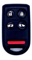 2007 07 Honda Odyssey Keyless Entry Remote - 5 Button Models with Power doors by Honda. $54.99. This device is a transmitter that operates your vehicle's Remote Keyless Entry System. It is a genuine factory/OEM remote meant to operate your specific vehicle.