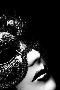 Black masquerade mask ~  Until I Break by M. Leighton