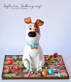 The Secret Life of Pets Birthday Cake - Cake by Sylwia Sobiegraj The Cake Designer Dog Cakes, Cupcake Cakes, Cupcakes, 4th Birthday Cakes, Teen Birthday, Birthday Parties, Movie Cakes, Gravity Cake, Fantasy Cake