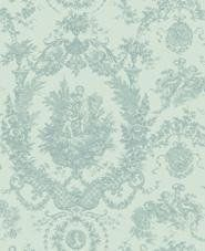 Vintage look aqua wallpaper