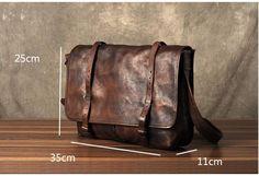 Leather Messenger bag, laptop bag, Messenger Bag, Shoulder Bag, Leather Briefcase GZ049 - Brown Leather Messenger bag, laptop bag, Messenger Bag, Shoulder Bag, Leather Briefcase GZ049 - Leajanebag