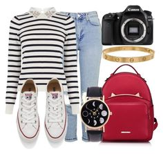 """""""Untitled #477"""" by carogamer ❤ liked on Polyvore featuring Topshop, Oasis, Converse, WithChic, Eos and Cartier"""