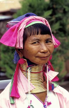 Photographer: Jean-Leo Dugast Burma, Shan State (Myanmar) Padaung minority woman.